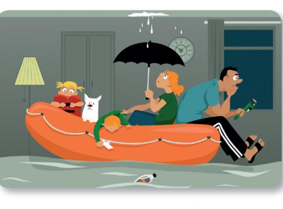 Publication d'un cahier de jeu sur le risque inondation