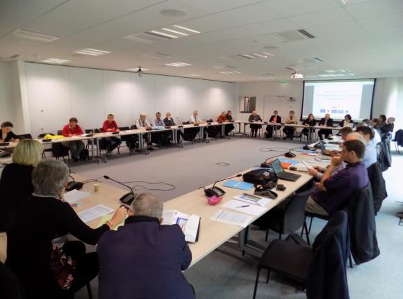 Réunion interministérielle des coordonnateurs