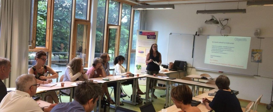 Formations nationales de formateurs risques majeurs éducation